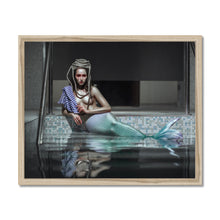 Load image into Gallery viewer, 'Catched Mermaid II' by Katerina Klio Framed Print