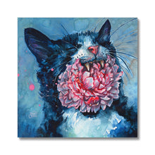 Load image into Gallery viewer, Yawn | Art Prints London UK | Mgallery, Shop Unique Art Prints London designed by Hilary McCarthy. MGallery offers Modern Acrylic Painting Art Prints with high-quality wood frames. Shop Now!-mgallery