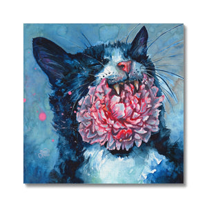Yawn | Art Prints London UK | Mgallery, Shop Unique Art Prints London designed by Hilary McCarthy. MGallery offers Modern Acrylic Painting Art Prints with high-quality wood frames. Shop Now!-mgallery