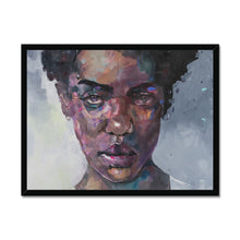 Load image into Gallery viewer, Lady 5 Portrait | Contemporary Art Framed Prints | MGallery, Lady 5 Portrait' by Roman Gulman available to buy online from MGallery. You can choose the Contemporary Art Framed Prints from variety of sizes.-Fine art-mgallery