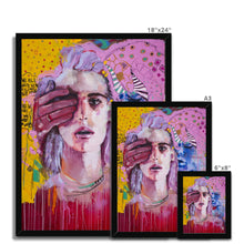 Load image into Gallery viewer, Lady 23 Portrait | Buy Framed Art Prints UK | MGallery, Buy Framed Art Prints UK now! You can choose unique Art Abstract Portrait with various sizes from MGallery to design your gallery wall.-Fine art-mgallery