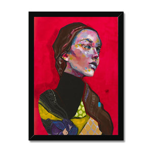 Lady 2 Portrait | Shop Framed Prints online | MGallery, Shop framed art prints. Thrill your walls now with a stunning framed art prints from UK based online shopping site. Express Delivery!-Fine art-mgallery
