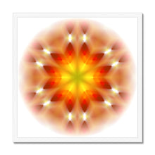 Load image into Gallery viewer, 'Light Mandala 3' by Michael Banks Framed Print