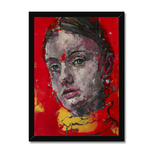 Lady 3 Portrait | Framed Prints Wall Decor for Sale | MGallery, Buy Framed Printed Wall Decor from MGallery. These are digitally printed Colourful Portrait Wall Art with variety of quality wood frames.-Fine art-mgallery