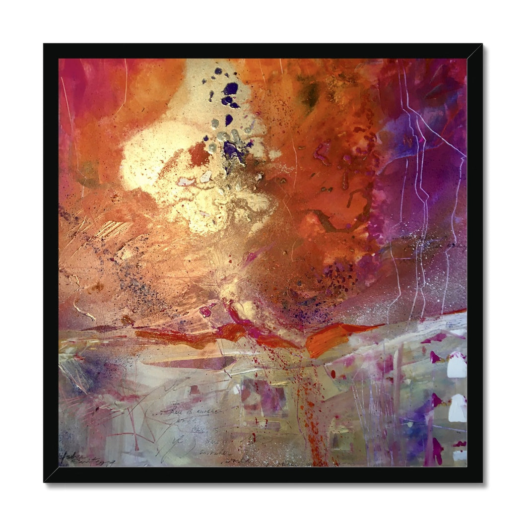 'Another World' by Andrea Ehret Framed Print