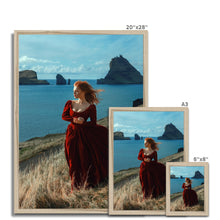 Load image into Gallery viewer, 'Windy day I' by Katerina Klio Framed Print