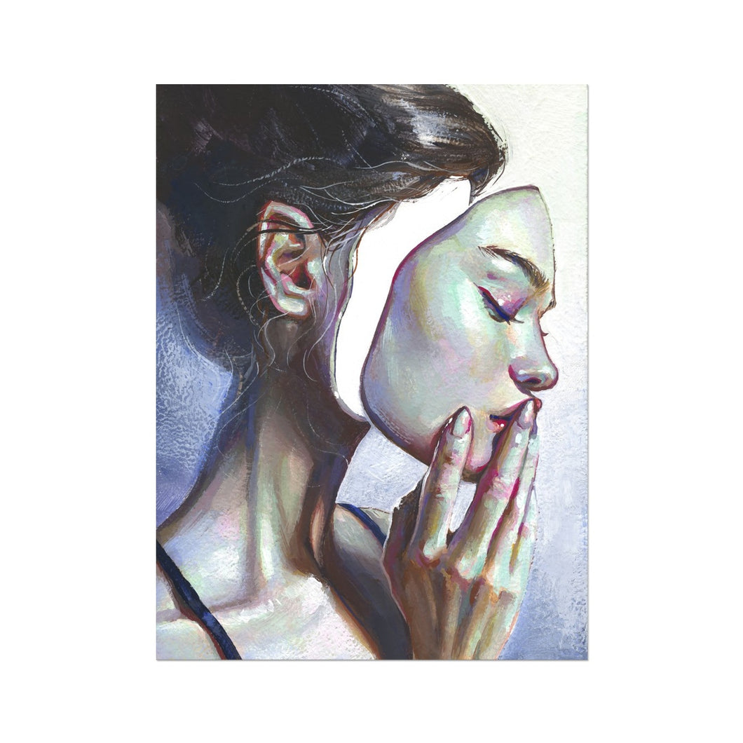 A Case of Identity | Beautiful Woman Portrait | MGallery , Design your bedroom with Beautiful Woman Portrait art prints UK with fast shipping and the best deals for every budget. Available Worldwide Shipping!-mgallery