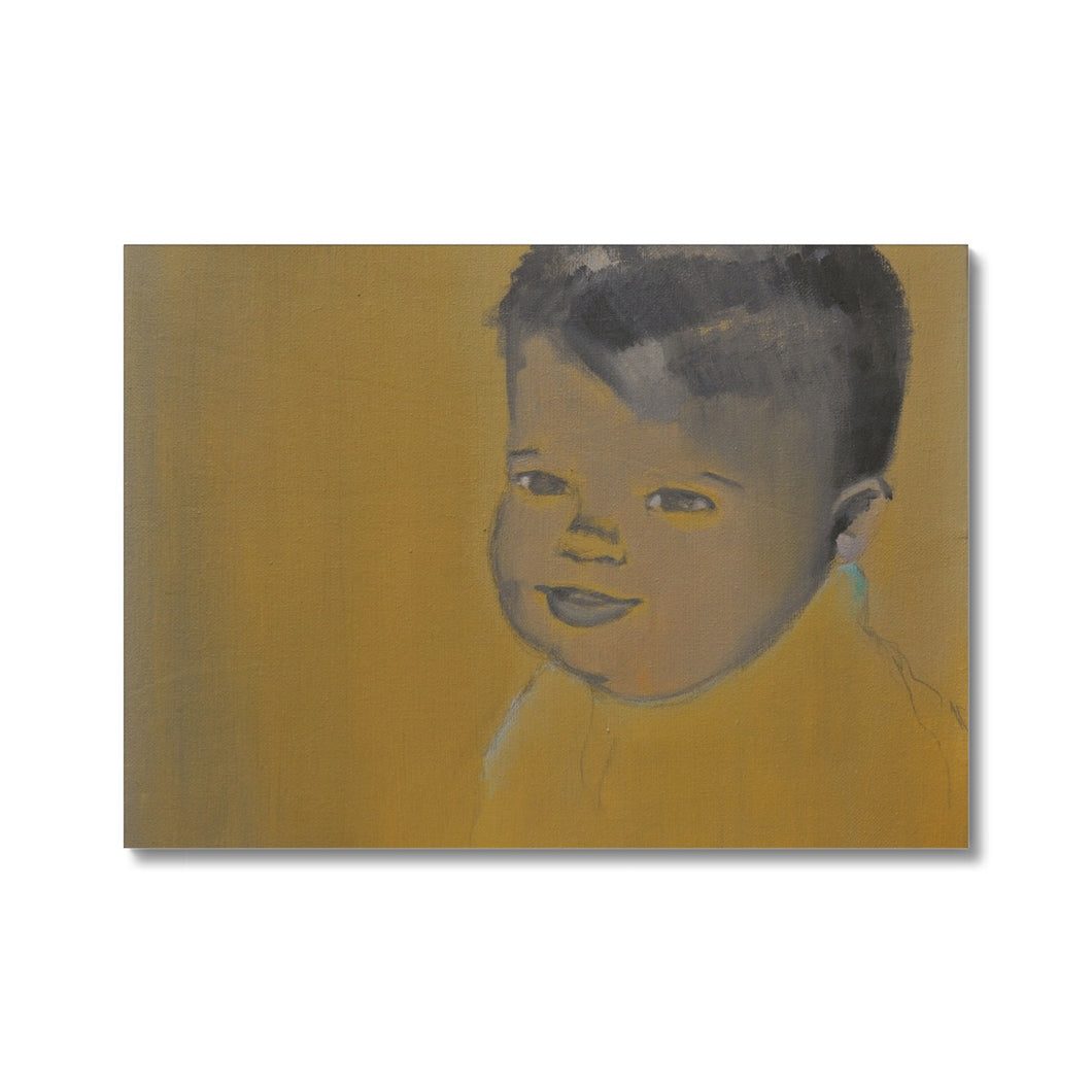'Child - 2' by Vincenzo Sgaramella Canvas