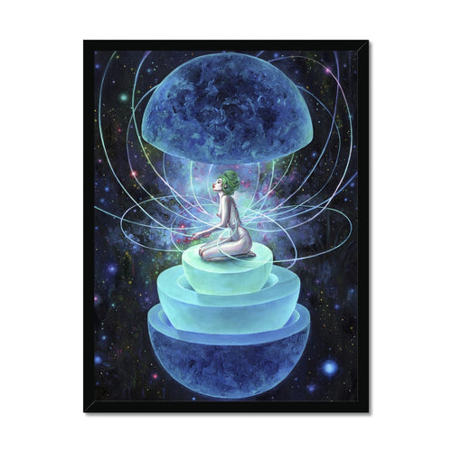 Neutron Seppuku | Blue Girl Art | Mgallery, Buy Blue Girl Art Online at MGallery! Design your everyday with Blue Acrylic Art fine art prints you'll love. Available worldwide shipping!-mgallery