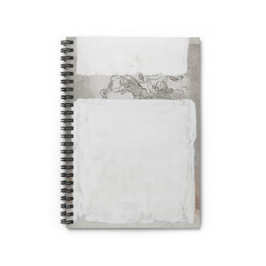 Little Angels by Young & Battaglia Spiral Notebook - Ruled Line