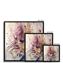 Load image into Gallery viewer, 'Flower´s Song' by Andrea Ehret Framed Print