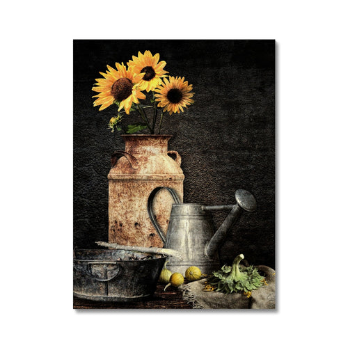 Sunflower Still Life | Yellow Flower Art Prints UK | MGallery, Take a unique style to your living room with Yellow Flower Art Prints UK with variety of sizes! Shop our unique collection of Good Quality Yellow Flower Arts.-mgallery