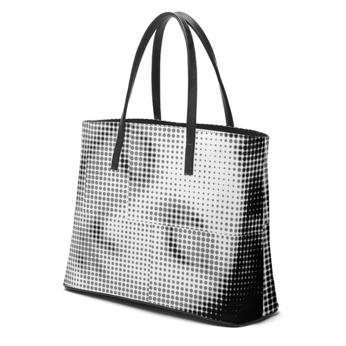 Comicbook Venus Leather Tote Bag - modernaissancegallery