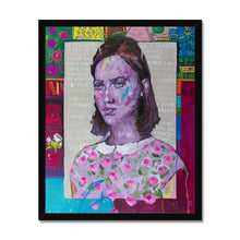 Load image into Gallery viewer, Lady 29 Portrait | Buy Framed Art Prints Online| MGallery, Find our Best Quality Framed Wall Art Prints at MGallery store. All Framed Art Prints are professionally printed with high quality paper materials.-Fine art-mgallery