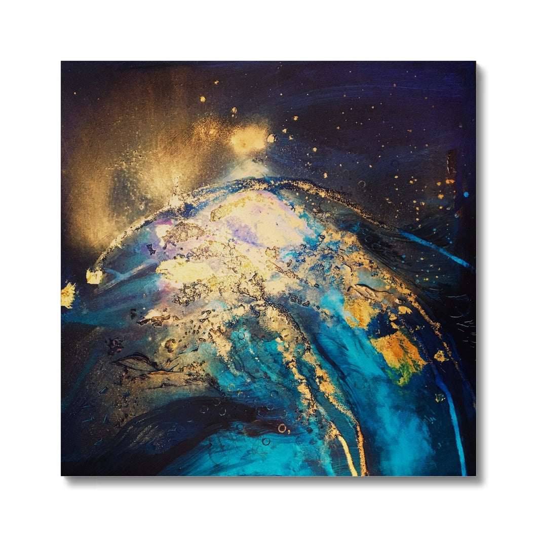 'Night ocean I' by Andrea Ehret Canvas