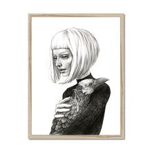 Load image into Gallery viewer, Black Raven | art deco portrait paintings | Mgallery, Art Deco Portrait Paintings for Sale online! Add a beautiful style to your home with our fabulous Art Painting Portrait, all at best prices and worldwide shipping!-mgallery