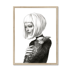 Black Raven | art deco portrait paintings | Mgallery, Art Deco Portrait Paintings for Sale online! Add a beautiful style to your home with our fabulous Art Painting Portrait, all at best prices and worldwide shipping!-mgallery