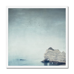'Falaise d'Amont - Côte d'Albatre Normandy France' by Dirk Wüstenhagen Framed Print