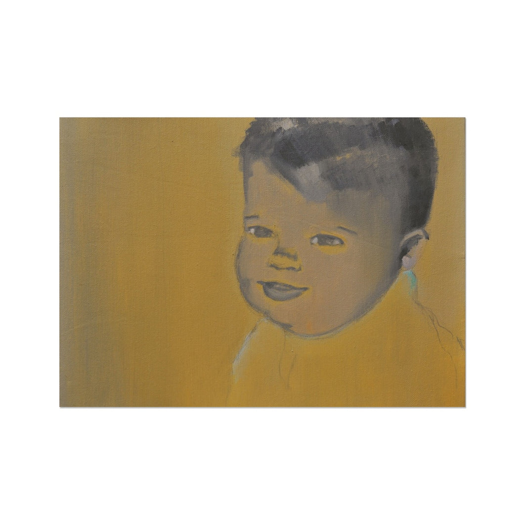 'Child - 2' by Vincenzo Sgaramella Fine Art Print