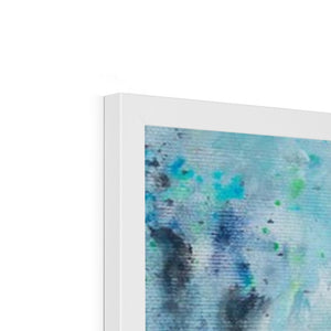Blue Valentine | Acrylic Framed Art | Mgallery, Shop Abstract Acrylic Framed Art Prints and Discover high quality Beautiful Abstract Art Paintings for bedroom, living room or office room.-mgallery