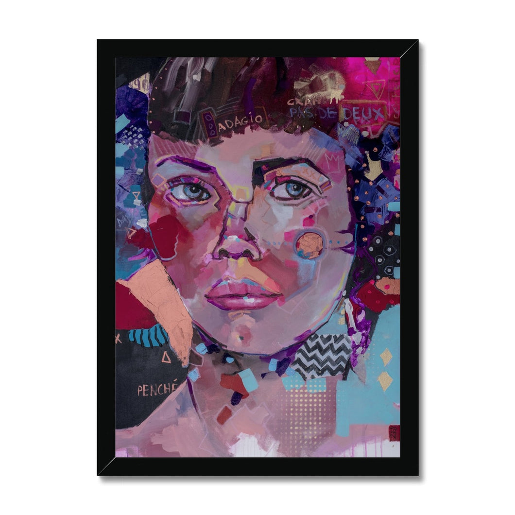 Lady 21 Portrait | Framed Prints for Bedroom | MGallery, Find your Best Framed Prints for Bedroom at MGallery. All Framed art prints UK are professionally printed with high quality paper materials.-Fine art-mgallery