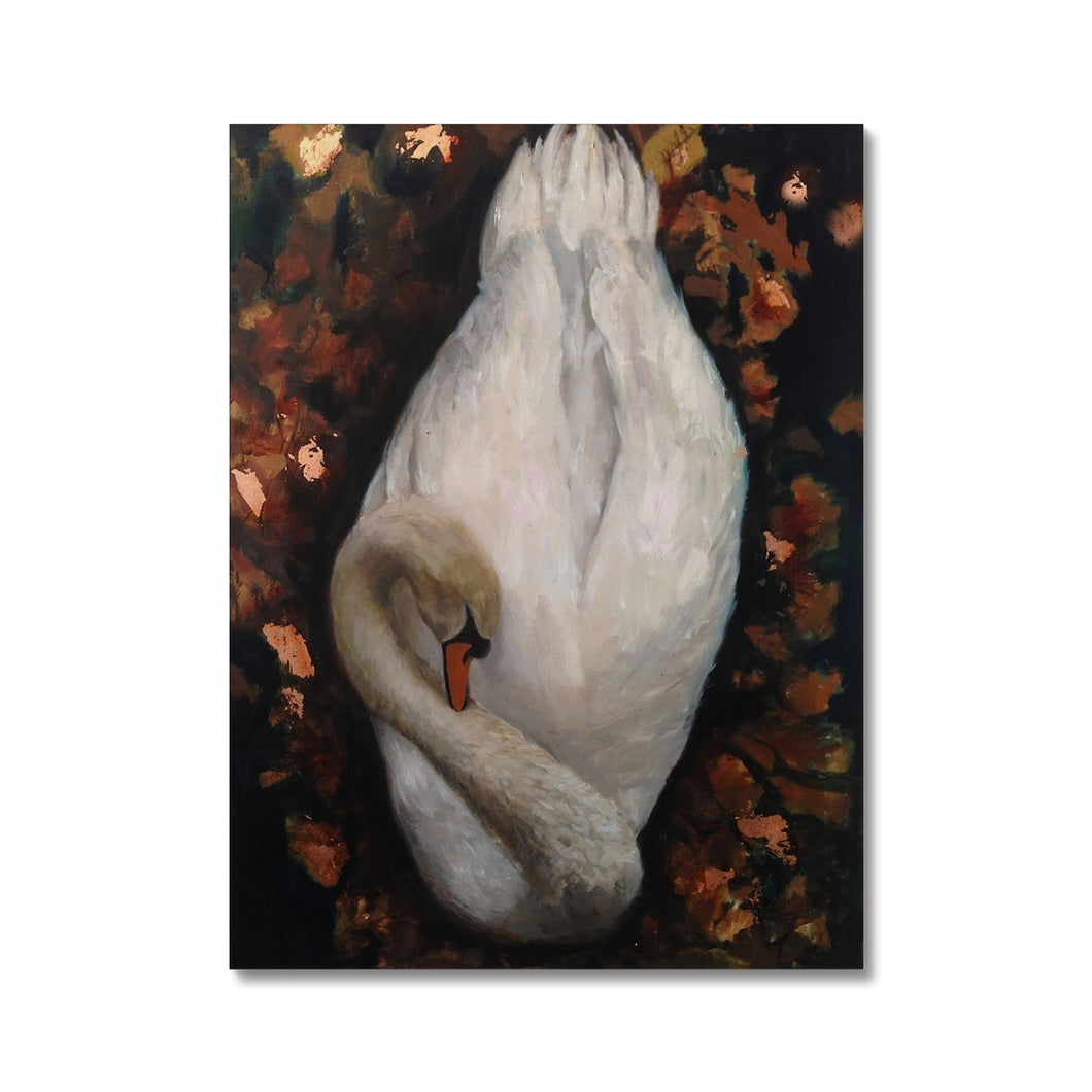 Sleeping Swan | Buy Modern Art Oil Painting | MGallery, Buy Modern Art Oil Painting on Canvas! Add a beautiful style to your home with our fabulous Oil Abstract Art, all at best prices and worldwide shipping!.-mgallery