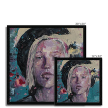 Load image into Gallery viewer, Lady 33 Portrait | Contemporary Art Prints for Sale | MGallery, Contemporary Art Prints for Sale at MGallery! Decorate your walls with Designer Wall Art Prints Online. Fast Worldwide Delivery!-Fine art-mgallery