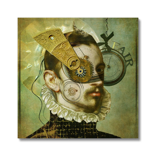 A Fair Portrait | Digital Art Protrait Prints for Sale | MGallery, A Fair Portrait' is beautiful Digital Art Canvas Print is produced using a Giclée fine art printing process. 100 year colour guarantee.-mgallery