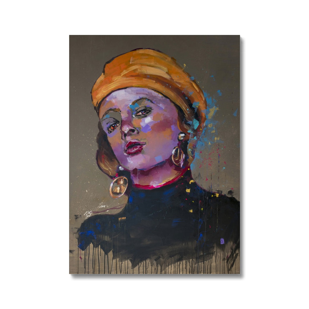Lady 19 Portrait | Canvas Wall Art Online| MGallery, Buy Canvas Wall Art online! Add a beautiful style to your home with our fabulous canvas art prints, all at best prices and worldwide shipping!.-Fine art-mgallery