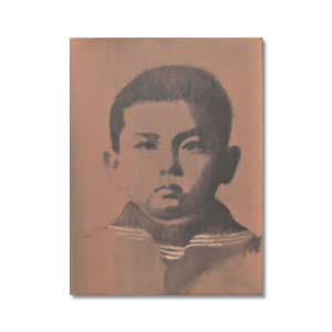 'Child -13' by Vincenzo Sgaramella Canvas