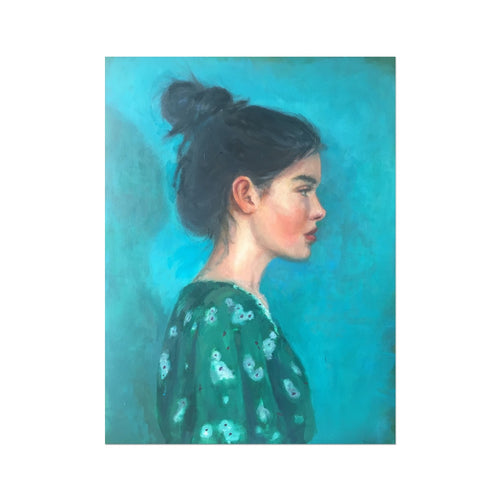 McCarthy_Ivy | Unique Portrait Art | MGallery, Shop Unique Portrait Art created by Hilary McCarthy. MGallery offers Modern Oil Painting Wall Art Prints with high-quality wood frames. Shop Now!-mgallery