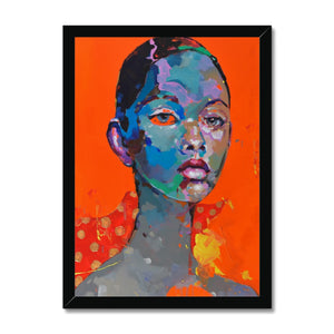 Lady 7 Portrait | Framed Wall Art for Bedroom | MGallery, Buy Framed Wall Art for Living room from MGallery. These are Digitally Printed Large Framed Wall Arts are with variety of wood frames.-Fine art-mgallery