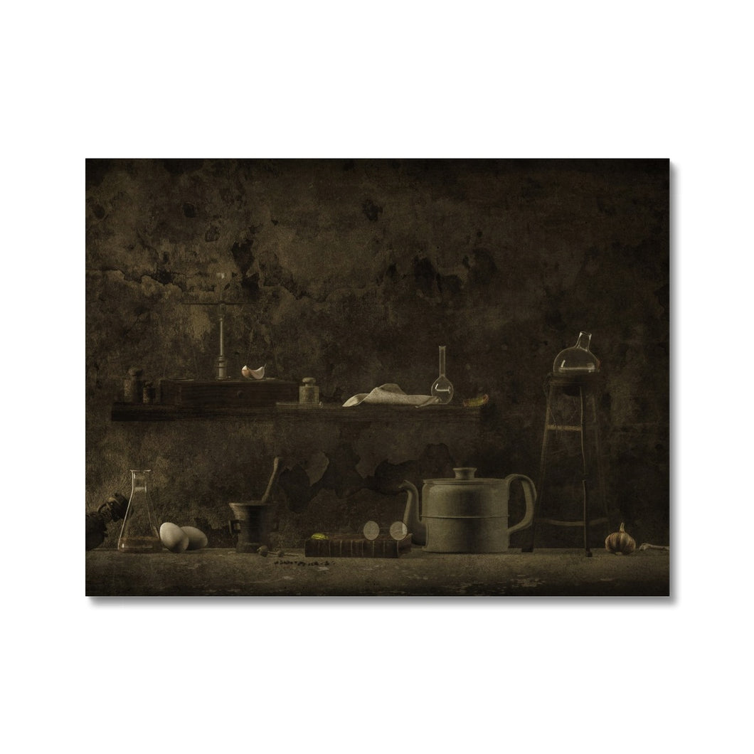 The Chthonian Kitchen | Dark Brown Wall Art | MGallery, Find your Dark Brown Wall Art! Add a unique style to your home with our Dark Brown Digital Wall Art Prints, all at best prices and worldwide shipping available!.-mgallery