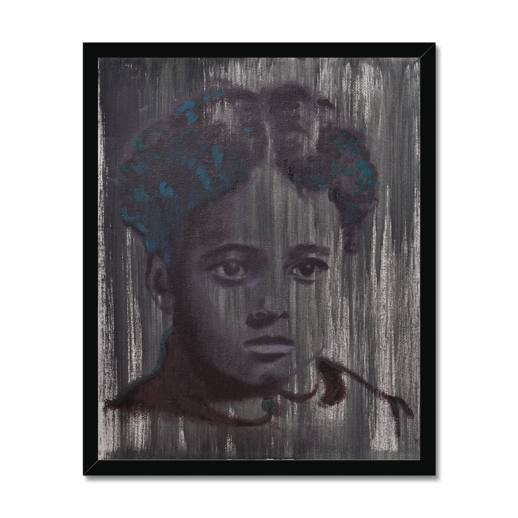 'Child - 11' by Vincenzo Sgaramella Framed Print