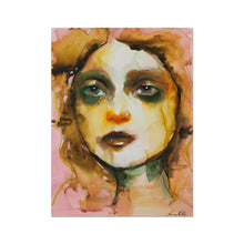 Load image into Gallery viewer, Vultus 04 | Large Modern Art Prints UK | MGallery, If You're Looking for Large Modern Art Prints UK. Shop Beautiful Acrylic Painting Portrait Woman at MGallery! Available Worldwide Shipping..-mgallery