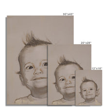 Load image into Gallery viewer, 'Child - 3' by Vincenzo Sgaramella Fine Art Print