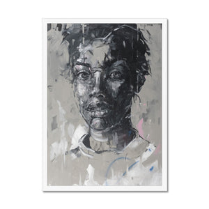 Lady 11 Portrait | Black and White Framed Art | MGallery, Framed contemporary art prints, made and curated for you! We bring the best collection of Black and White Framed Art to decorate your home -Fine art-mgallery