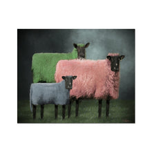 Load image into Gallery viewer, Sheep Portraits | Art Deco Portraits for Sale | MGallery, Best Digital Art Portraits for Sale at MGallery! Decorate your walls with High Quality Digital Art Portraits Online. Fast Worldwide Delivery Available! -mgallery