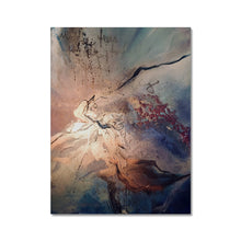 Load image into Gallery viewer, 'Burning Moon' Canvas by Andrea Ehret