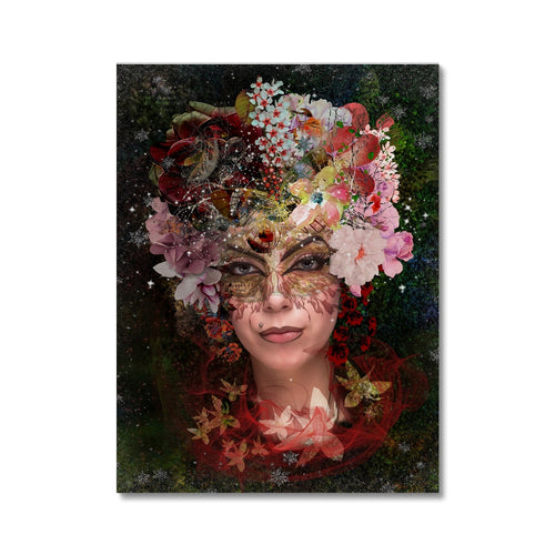 Awaiting Spring 70 | Colourful Portrait Canvas | MGallery, Design your everyday with Colourful Portrait Canvas you'll love. Buy your Beautiful Digital Art Canvas Prints with trending designs. Worldwide Shipping Available!-mgallery