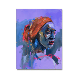 Lady 17 Portrait | Stretched Canvas Prints Online | MGallery, MGallery is the best way to find the perfect canvas art prints for your bedroom. Stretched Canvas Art Prints for sale online, with best deals for every budget.-Fine art-mgallery