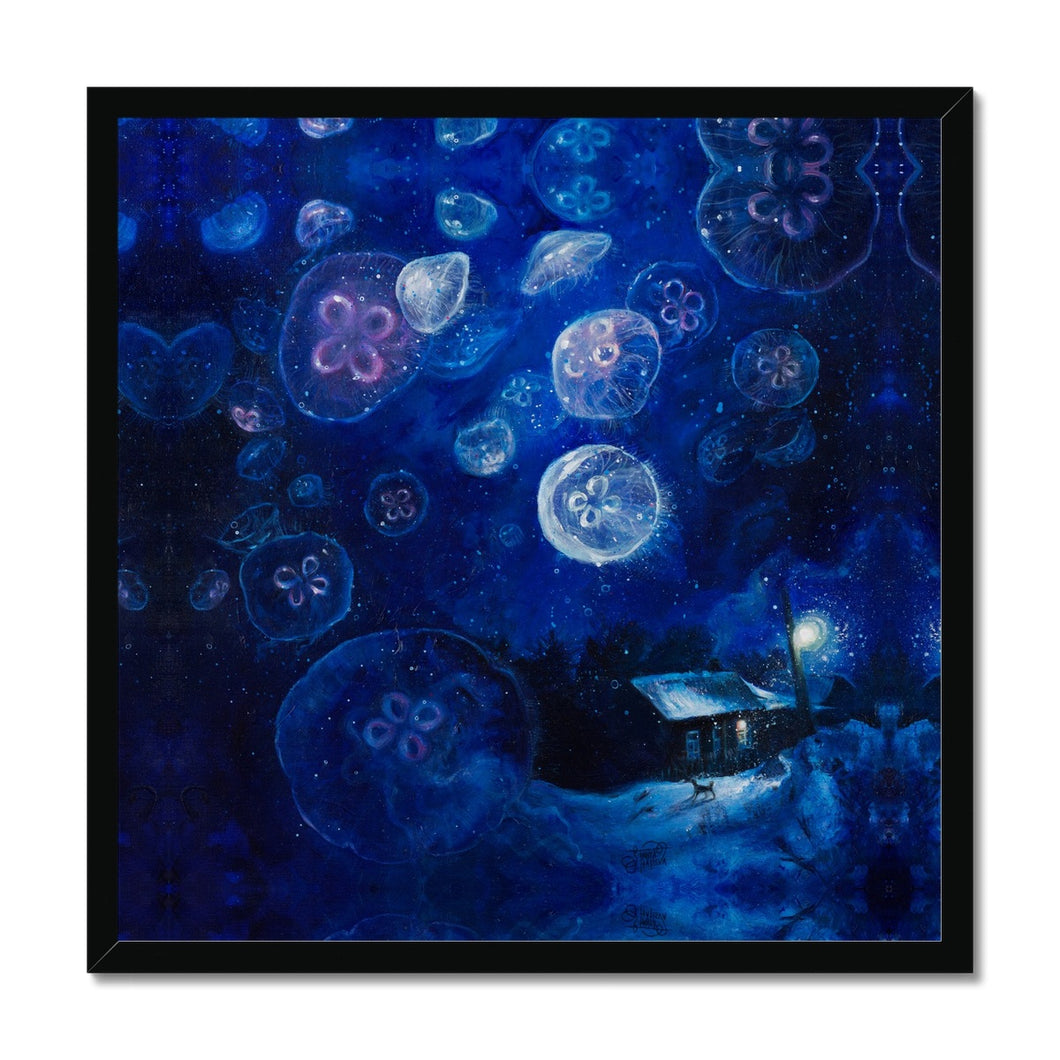 It's Jellyfishing | Blue Wall Art Uk | Mgallery, Blue Wall Art UK for Sale with huge variety of sizes and styles. Design your gallery wall with our beautiful collection of Acrylic Painting Art Prints UK.-mgallery