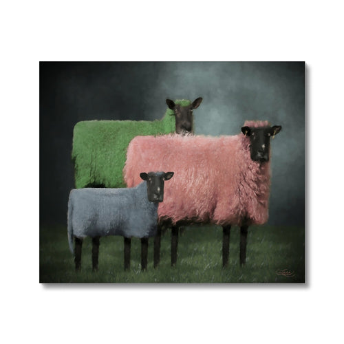 Sheep Portraits | Art Deco Portraits for Sale | MGallery, Art Deco Portraits for Sale at MGallery! You can choose Contemporary Art Deco Portrait Prints with various sizes from MGallery to make your home unique.-mgallery