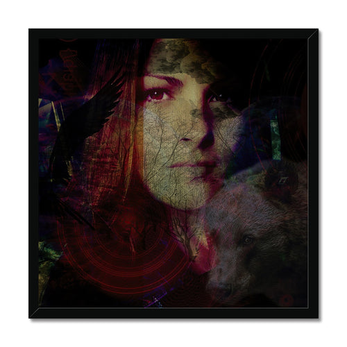 Ash_edit GI 80 | Portrait Framed Prints online | MGallery, Buy Portrait Framed Prints online! All Framed Digital Art Prints are professionally printed, framed, assembled, and shipped within 4-5 business days.-mgallery