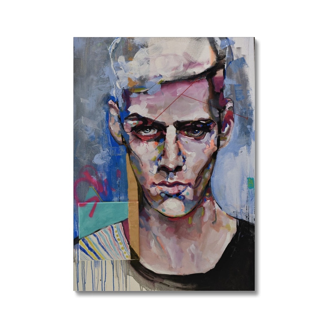Man 1 Portrait | Abstract Portrait Arts | MGallery, Shop Abstract Portrait Arts at MGallery and discover High Quality Modern Wall Art for your bedroom, living room or office. Worldwide shipping Available!-Fine art-mgallery