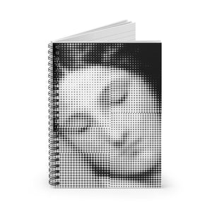 Comicbook Venus by Young & Battaglia Spiral Notebook - Ruled Line