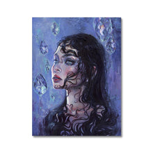 Load image into Gallery viewer, Phantom Rain | Unique Portrait Paintings, Find our Unique Portrait Paintings at MGallery store. All Colourful Canvas Art Prints are professionally printed with high quality paper materials.-mgallery