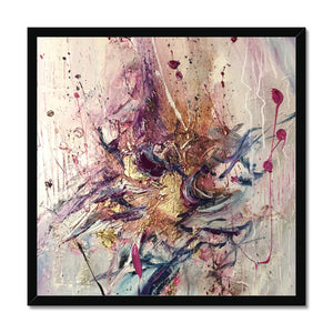 'Flower´s Song' by Andrea Ehret Framed Print