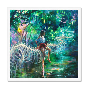 Dopamine Jungle | Abstract Nature Wall Art | Mgallery, Shop Beautiful abstract Nature Wall Art created by Tanya Shatseva. MGallery offers Modern Acrylic Painting Wall Art Prints with high-quality wood frames. Shop Now!-mgallery