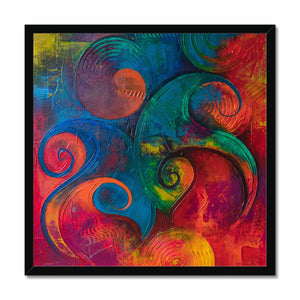 'The Joint Spirit' by Kawsar Ahmed Framed Print